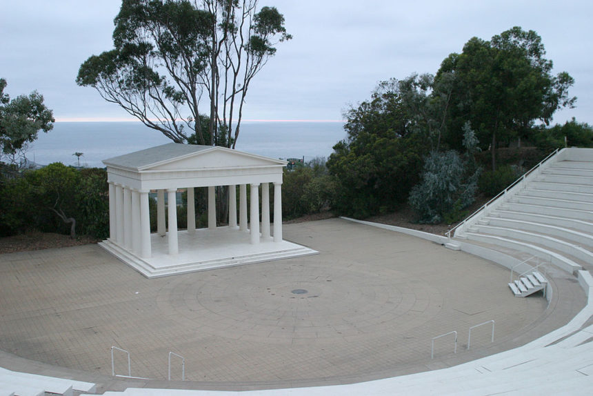 Some of the elements of Loma Land are still present in some form on the Point Loma Nazarene campus
