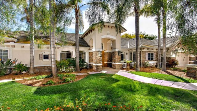 rancho santa fe lakes home